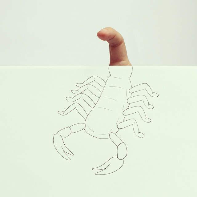 Хавьер Перес (Javier Perez) и его простые рисунки