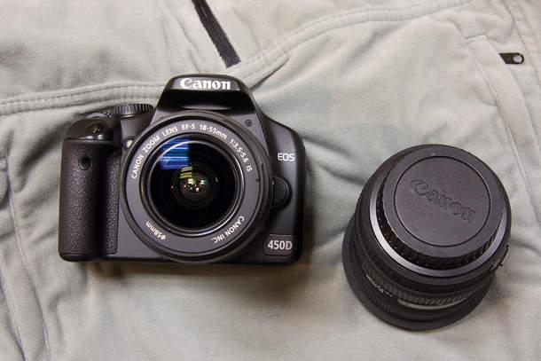 Как правильно менять объектив на фотоаппарате