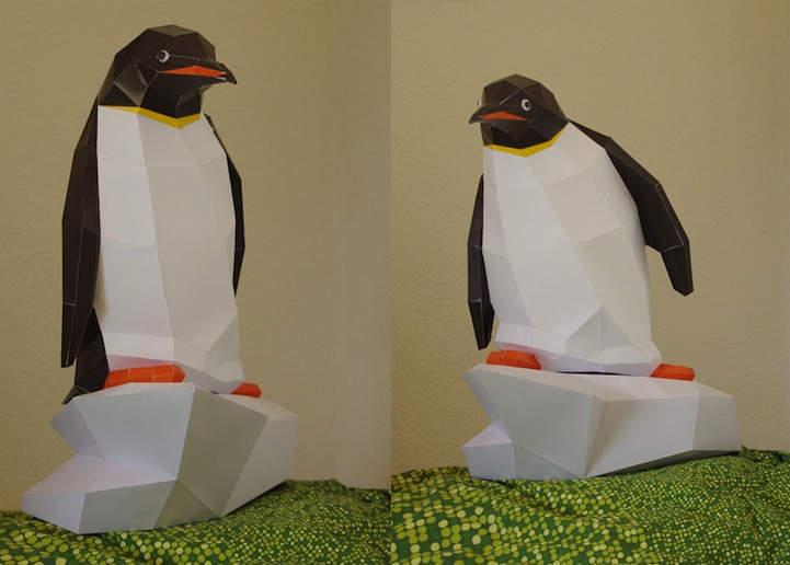 3D-модели животных от PaperWolf