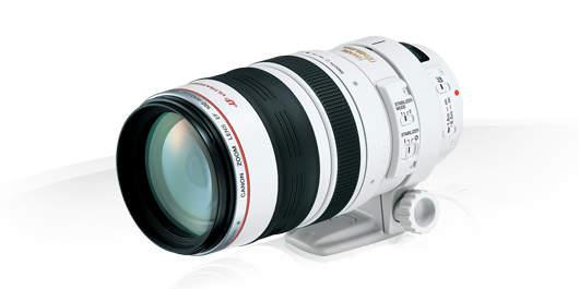 Телеобъектив Canon EF 100-400 мм F / 4.5-5.6L II USM