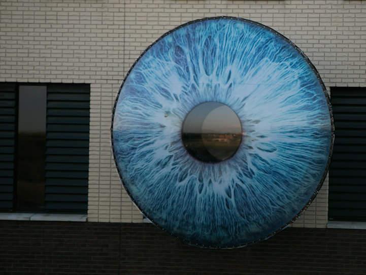 Всевидящее око - гигантская арт инсталляция