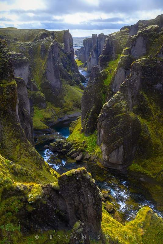 Самый красивый каньон в мире - Fjaðrárgljúfur