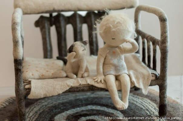 Ирина Андреева и её необычные куклы из войлока 18