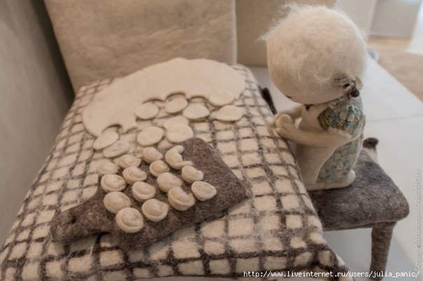 Ирина Андреева и её необычные куклы из войлока 19