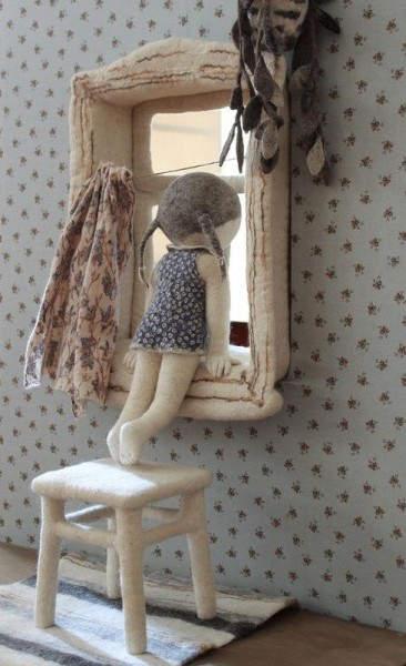 Ирина Андреева и её необычные куклы из войлока 4