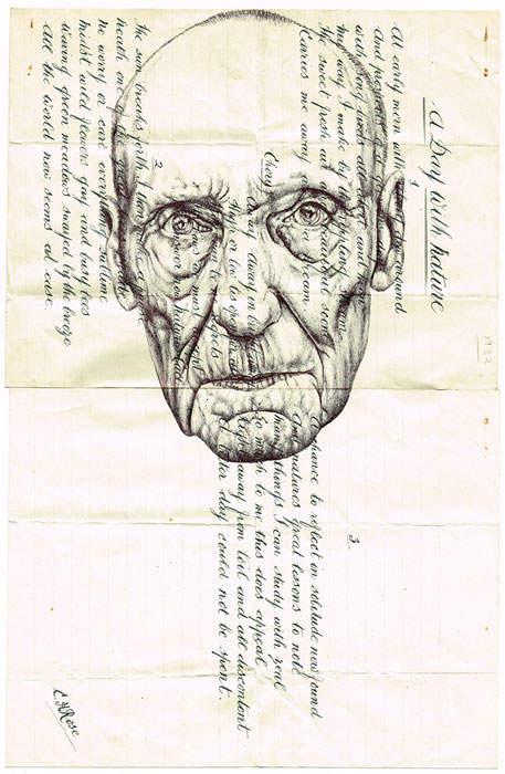 Искусство оживлять старые документы Марка Пауэлла (Mark Powell) 14