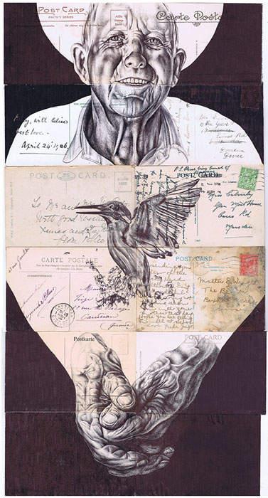 Искусство оживлять старые документы Марка Пауэлла (Mark Powell) 17