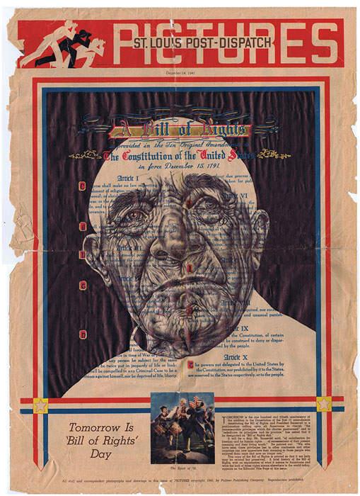 Искусство оживлять старые документы Марка Пауэлла (Mark Powell) 18