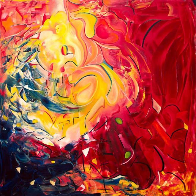 Паула Архинего (Paula Arciniega) и её музыкальная живопись 10