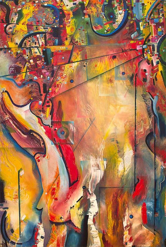 Паула Архинего (Paula Arciniega) и её музыкальная живопись 11