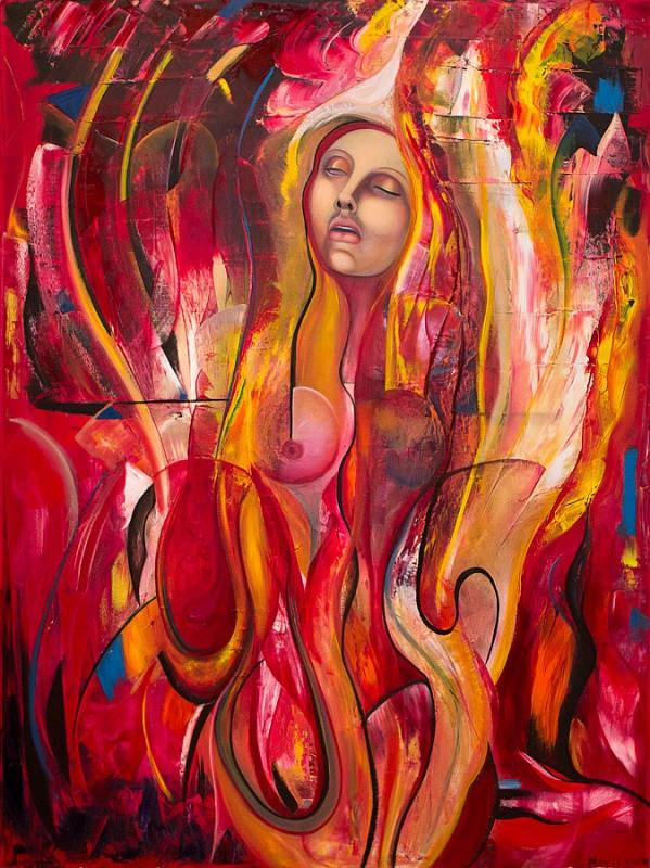 Паула Архинего (Paula Arciniega) и её музыкальная живопись 14