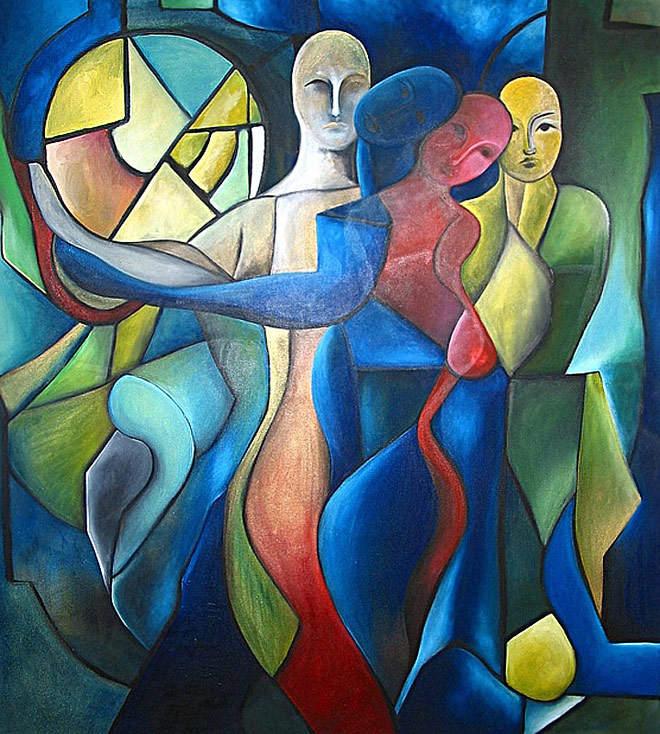 Паула Архинего (Paula Arciniega) и её музыкальная живопись 15