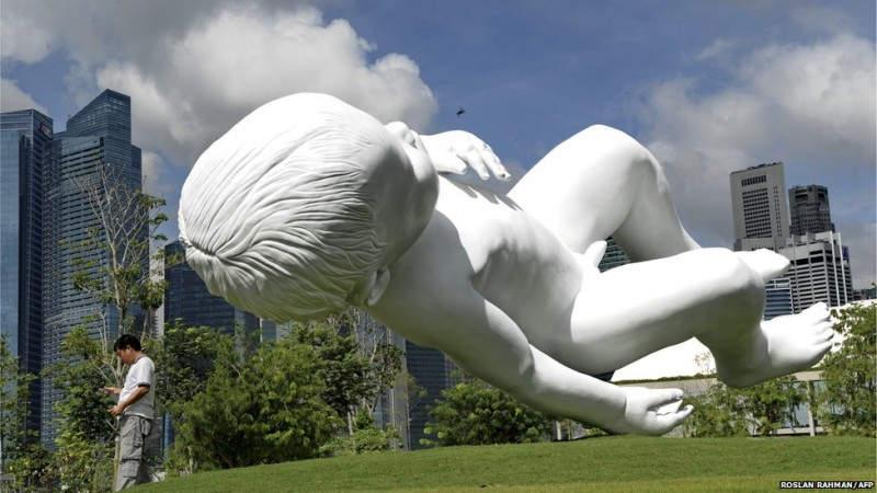 Провокационные скульптуры Марк Куинн (Marc Quinn) 4