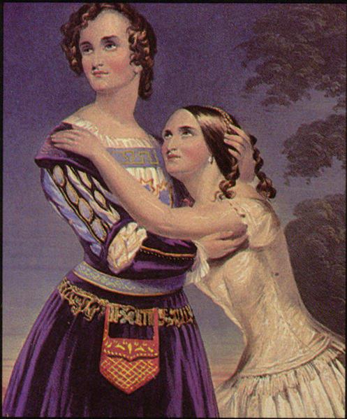 «Ромео и Джульетта», 1846 год