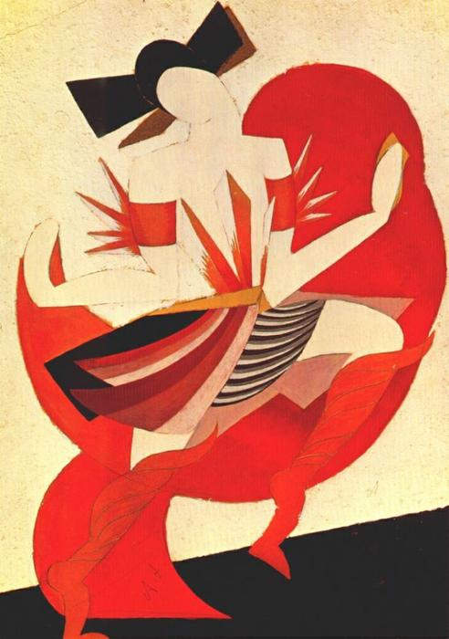 «Ромео и Джульетта», Александра Экстер, 1920 год