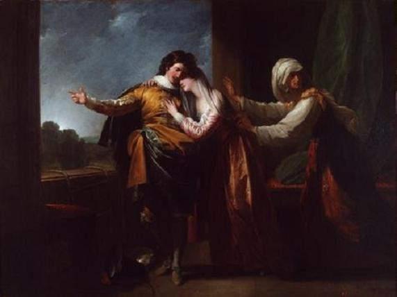 «Ромео и Джульетта», Бенджамин Уэст (Benjamin West), 1778 год