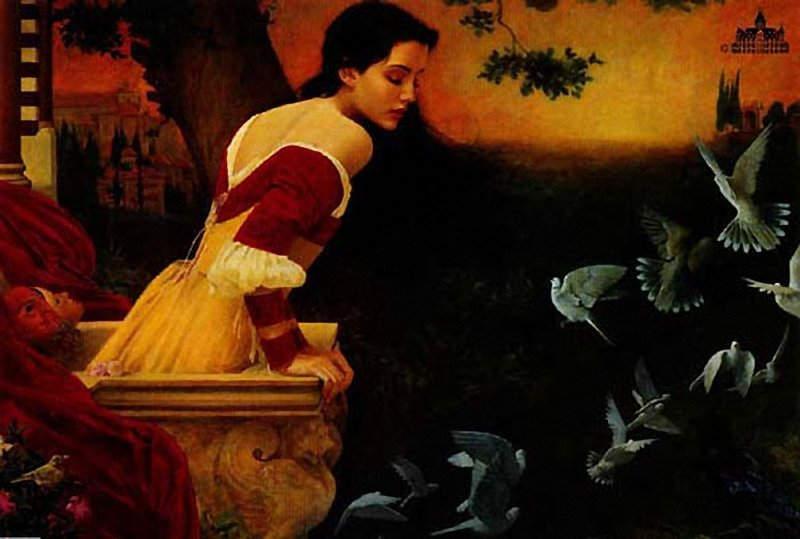 Образы «Ромео и Джульетты» в иллюстрациях и картинах. Часть 5