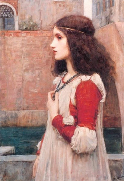 «Ромео и Джульетта», Джон Уильям Уотерхаус (John William Waterhouse), 1898 год