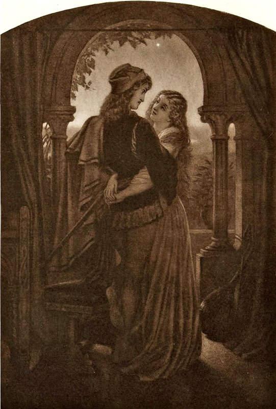 «Ромео и Джульетта», Джозеф Ноэль Патон (Joseph Noel Paton) 1847 год