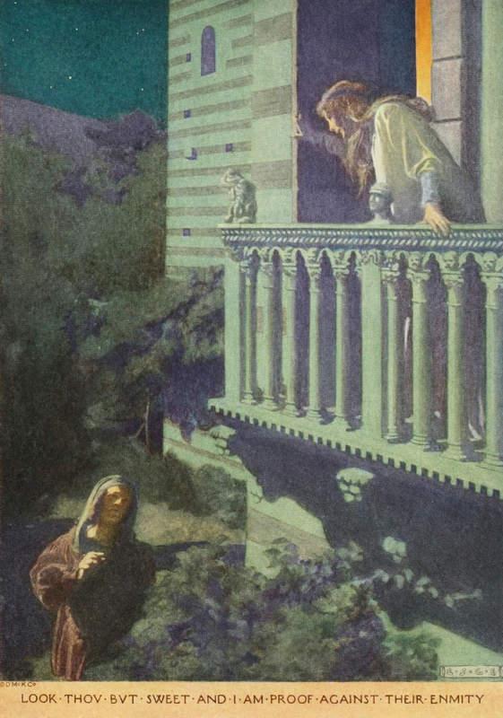 «Ромео и Джульетта», Элизабет Грин (Elizabeth Shippen Green) 1922 год