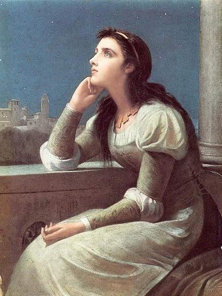 «Ромео и Джульетта», Филипп Гермогенес Кальдерон (Philip Hermogenes Calderon) 1888 год