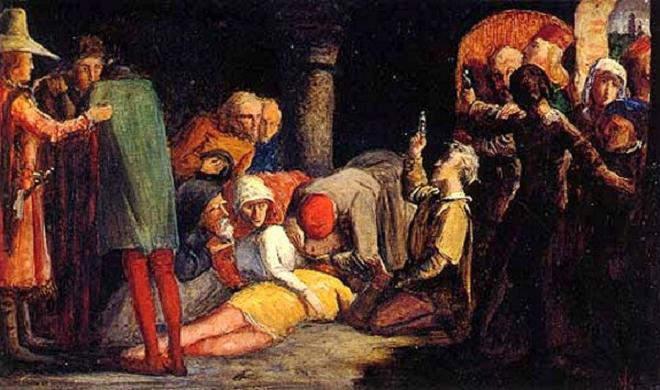 «Ромео и Джульетта», Francesco Paolo Miquetti 1848 год