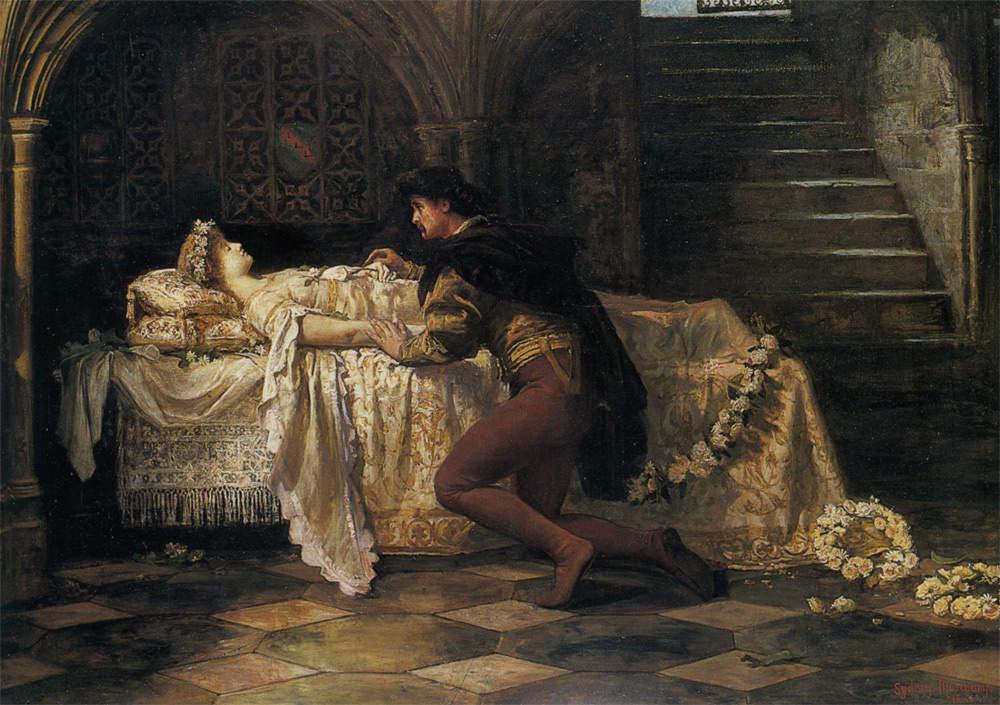 «Ромео и Джульетта», Francis Sydney Muschamp, 1886 год