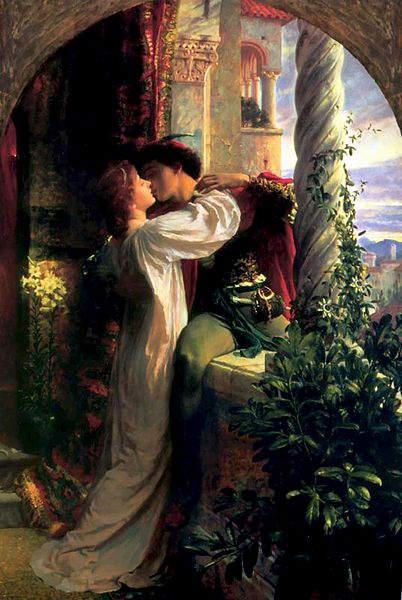 «Ромео и Джульетта», Фрэнк Бернард Дикси (Francis Bernard Dicksee) 1884 год