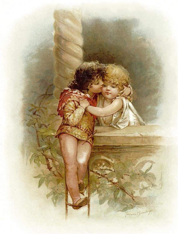 «Ромео и Джульетта», Френсис Брундаж (Frances Brundage) 1910 год