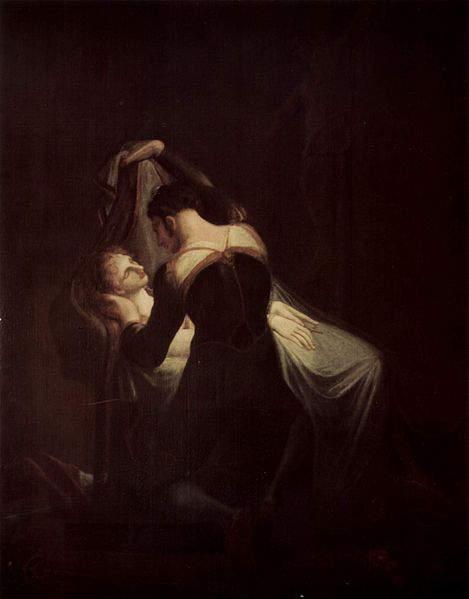 «Ромео и Джульетта», Генри Фюзели (Henry Fuseli), 1809 год
