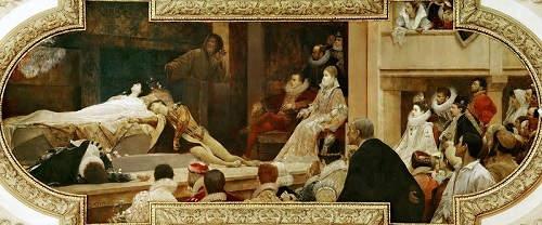 «Ромео и Джульетта», Густав Климт (Gustav Klimt), 1886 – 1888 год