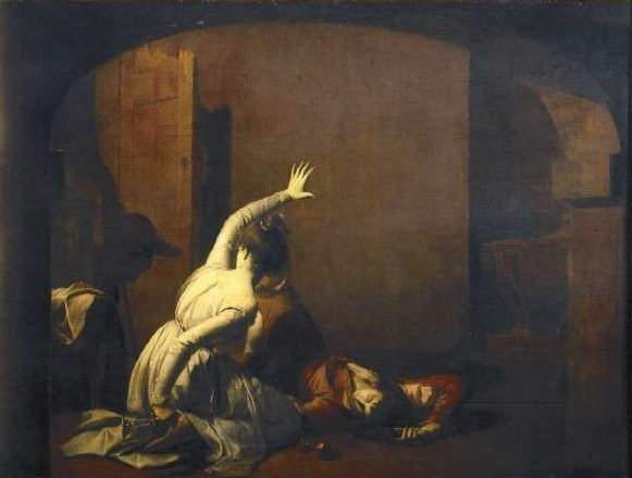 «Ромео и Джульетта», Joseph Wyatt of Derby 1790 года