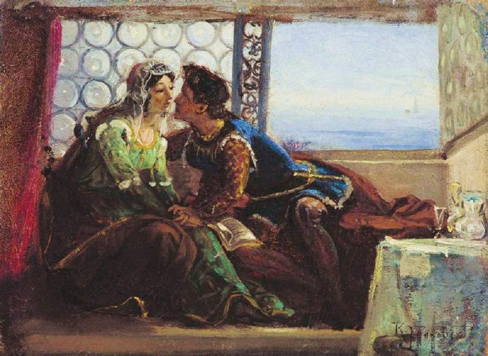 «Ромео и Джульетта», Константин Маковский, 1890 год