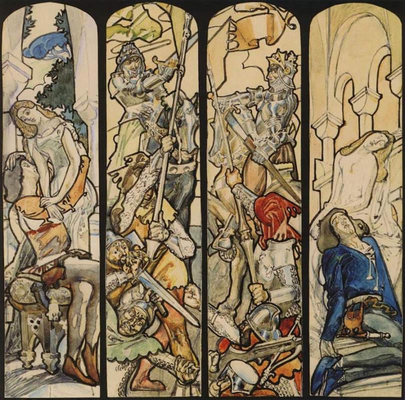 «Ромео и Джульетта» Михаил Врубель, 1895 – 1896 год