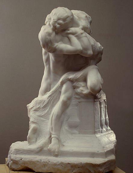 «Ромео и Джульетта», Огюст Роден, 1905 год
