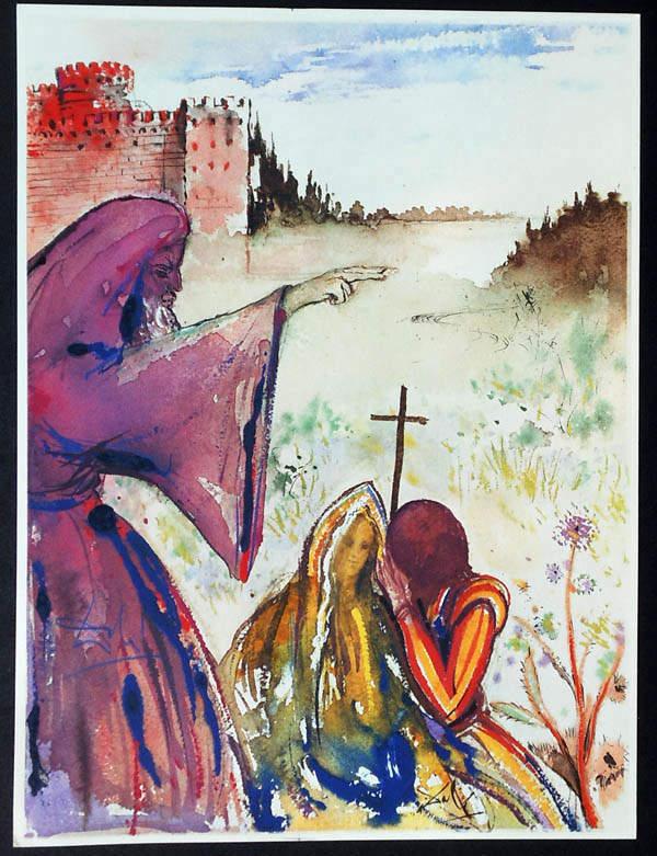 «Ромео и Джульетта», Сальвадор Дали, 1975 год