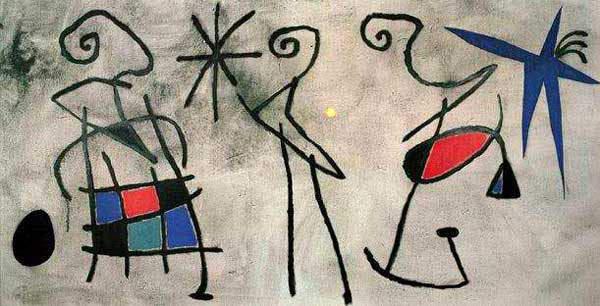 Сюрреалистическое искусство Жоан Миро (Joan Miro) 13