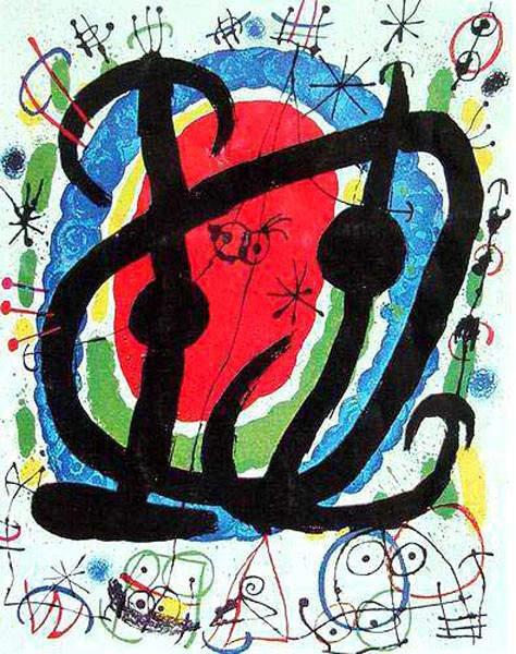 Сюрреалистическое искусство Жоан Миро (Joan Miro) 15