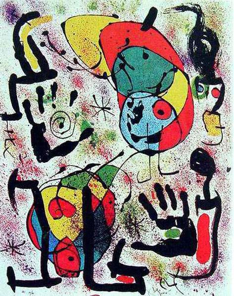 Сюрреалистическое искусство Жоан Миро (Joan Miro) 17