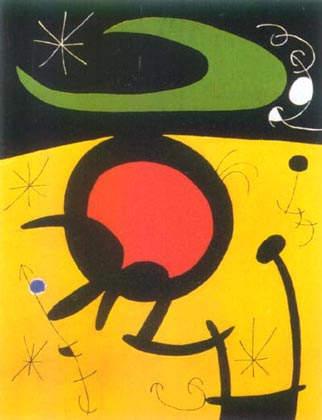 Сюрреалистическое искусство Жоан Миро (Joan Miro) 18