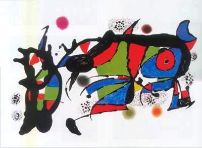 Сюрреалистическое искусство Жоан Миро (Joan Miro) 3
