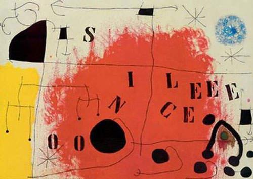 Сюрреалистическое искусство Жоан Миро (Joan Miro) 6