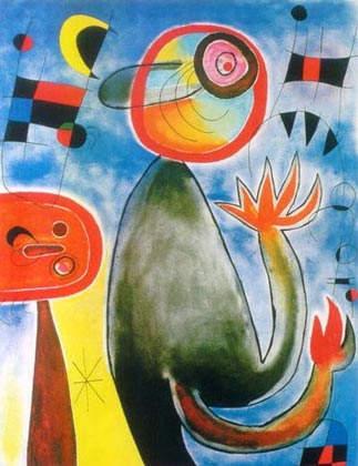 Сюрреалистическое искусство Жоан Миро (Joan Miro) 8