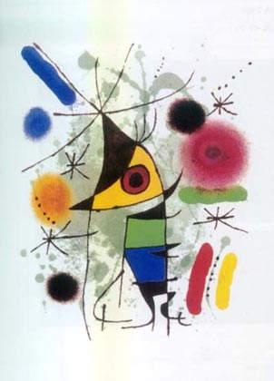 Сюрреалистическое искусство Жоан Миро (Joan Miro) 9