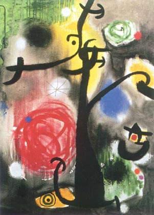 Сюрреалистическое искусство Жоан Миро (Joan Miro)