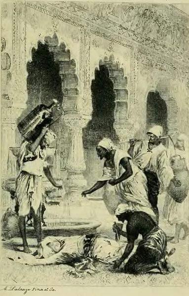 «Тысяча и одна ночь», иллюстрации Адольфа Лалаузе (Adolphe Lalauze) 1885 года