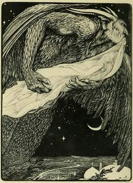 «Тысяча и одна ночь», иллюстрации Альберта Летхфорда (Albert Letchford) 1897 года