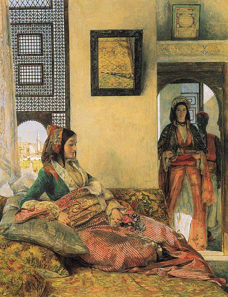 «Тысяча и одна ночь», иллюстрации Джона Фредерика Льюиса, 1857 год