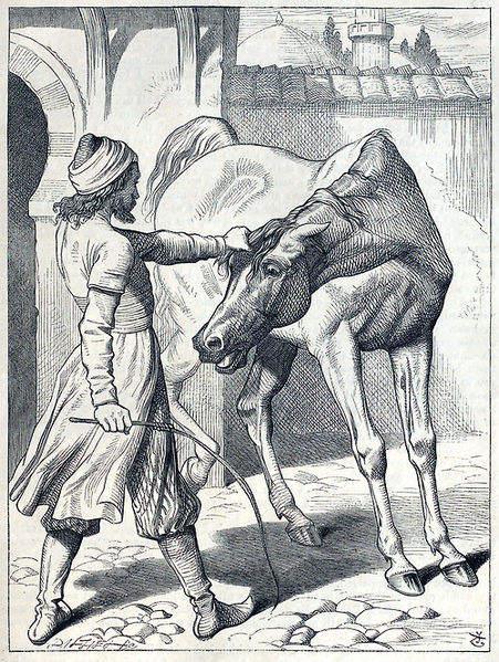 «Тысяча и одна ночь», иллюстрации Джона Тенниела (John Tenniel ) 1842 года