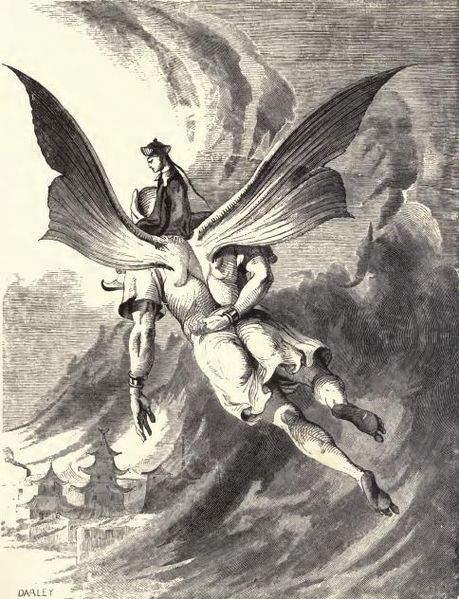 «Тысяча и одна ночь», иллюстрации Феликса Дарлея (Felix Octavius Carr Darley) 1868 года
